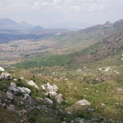 Ausblick vom Chiradzulu in der Nähe von Blantyre
