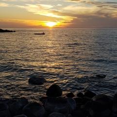 Ein weiterer Sonnenuntergang auf Likoma Island