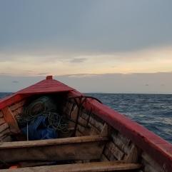 Auf dem Rückweg von Chizumulu Island