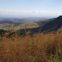 Ausblick auf das Umland bei Chilomoni (Blantyre)
