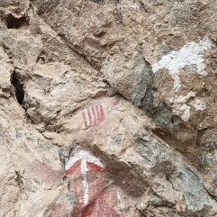 Malereien aus der Steinzeit bei Dedza