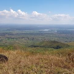 Ausblick auf Süd-Malawi/ Mosambik