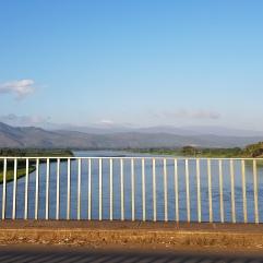 Ausblick von einer Brücke bei Chikwawa